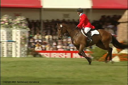 World Equestrian Games Gold Medalist Profiled In Badminton